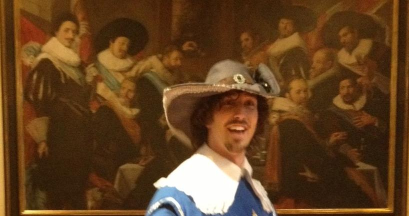 Costumed Up In Vaux Le Vicomte